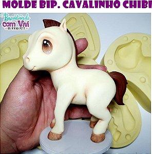 Molde Cavalinho Chibi - BCV
