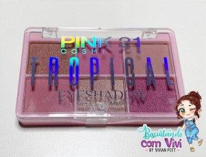 Paleta de Sombras Rosê - Make e Artesanato