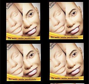 Molde Cab. Feminina Sorrindo Escala 1/6 - Nanda Regina