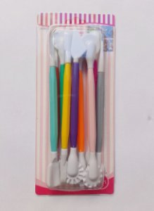 Kit Estecas de Plástico 9 Peças