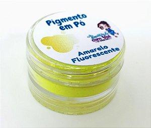 Pigmento em Pó para Resina - Amarelo Fluorescente