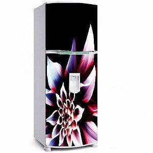 Adesivo geladeira flor