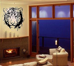 Adesivo Rosto de Tigre