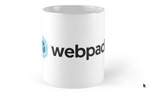 Caneca ceramica Webpack