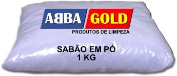 Sabão em Pó ABBA GOLD 3 em 1