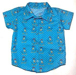 Camisa Infantil Temática Galinha Pintadinha