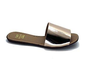 Rasteira fabricação própria bronze  bq-01