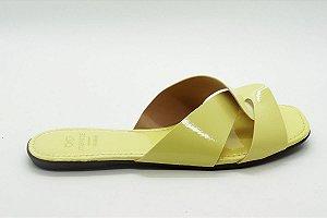 Rasteira fabricação própria amarelo  bq-03