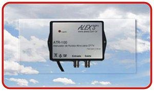 ATR-100 Atenuador de ruídos Ativo para CFTV CVBS analógico.