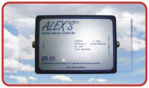 ATR-075 Atenuador de ruídos passivo para CFTV analógico cvbs, HD, FullHD e 4K.