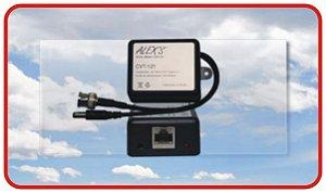 CVT-121P Transmissor de Vídeo UTP Passivo CVBS e HD e Conversor de Tensão 12V