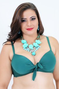 Top Super Bojo Verde Plus Size