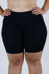 Short Sem Costura LOBA Plus Size