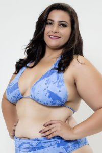 Top Cortinao Agua Plus Size