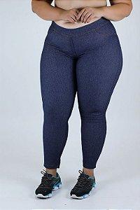 Calça Legging Jeans Plus Size