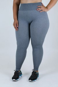 Legging sem Costura Loba Plus Size