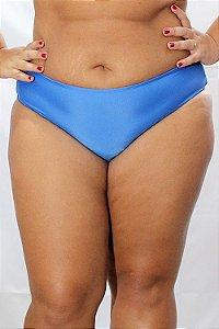 Parte de Baixo Tanga azul Plus Size