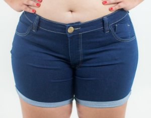 Shorts Jeans Plus Size