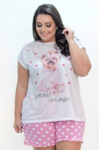 Pijama  YORKSHIRE Plus Size