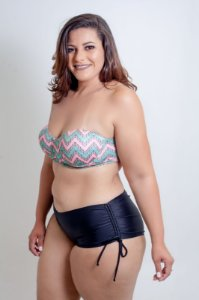 Tanga Shortinho Lisa Plus Size