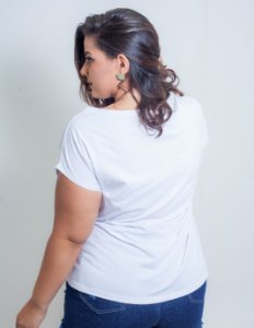 T-Shirt Diversas Plus Size