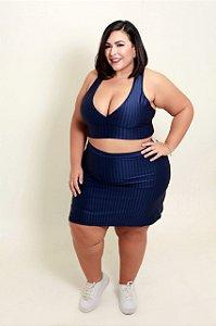 Short Saia Fitness Plus Size