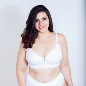 Sutiã Sem Bojo  Mary Branco Plus Size
