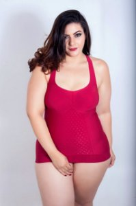 Regata Stretch Modeladora Plus Size