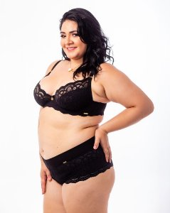 Sutiã Isadora Sem Bojo  Plus Size