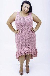 Vestido Mulet Sara Tricô Plus Size