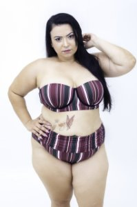 Tanga Hotpants Franzida Plus Size