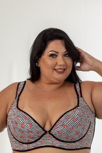 Sutiã Sofia Melância Plus Size