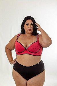 Sutia Sofia Frutily Coração Plus Size