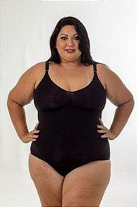 Body Estético Segunda Pele Plus Size