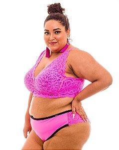 Calcinha Flavia Pink Plus Size