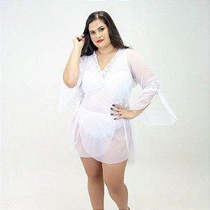 Robe Tule  Plus Size