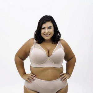 SUTIÃ CATARINA LISO PLUS SIZE