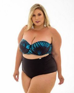 Tanga Paula Hotpants lisa Plus Size