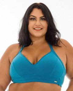 Top Aline liso Plus Size