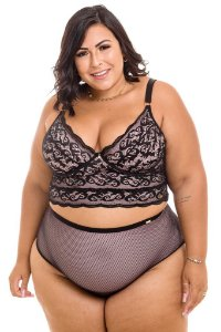 Novo Croped Isadora Plus Size