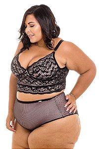 Calcinha Marcele Tule Plus Size