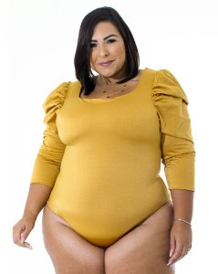 Body Manga Princesa Iara Plus Size