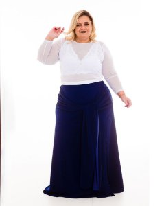 Croped Arrastao Talita Plus Size