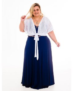 Croped Renda Michele Plus Size
