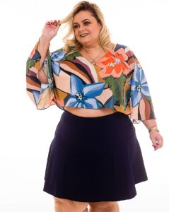 Mini Saia Nice Plus Size
