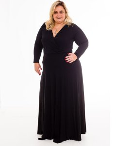 Body Louise Transpassado Plus Size