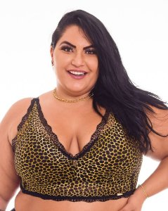 CROPED Renda Sissia Dubai Plus Size