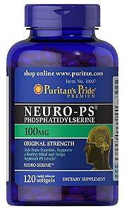 Neuro-PS (Phosphatidylserine) 100 mg | 120 Softgels - Puritan's Pride