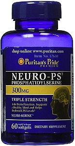 Neuro-PS (Phosphatidylserine) 300 mg | 60 Softgels - Puritan's Pride