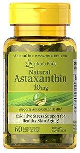 Astaxantina Natural 10mg | 60 Cápsulas - Puritan's Pride